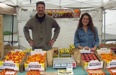 Pipitone Farms rejoined the Market for 2009 on July 8th. Photo copyright 2009 by Zachary D. Lyons.