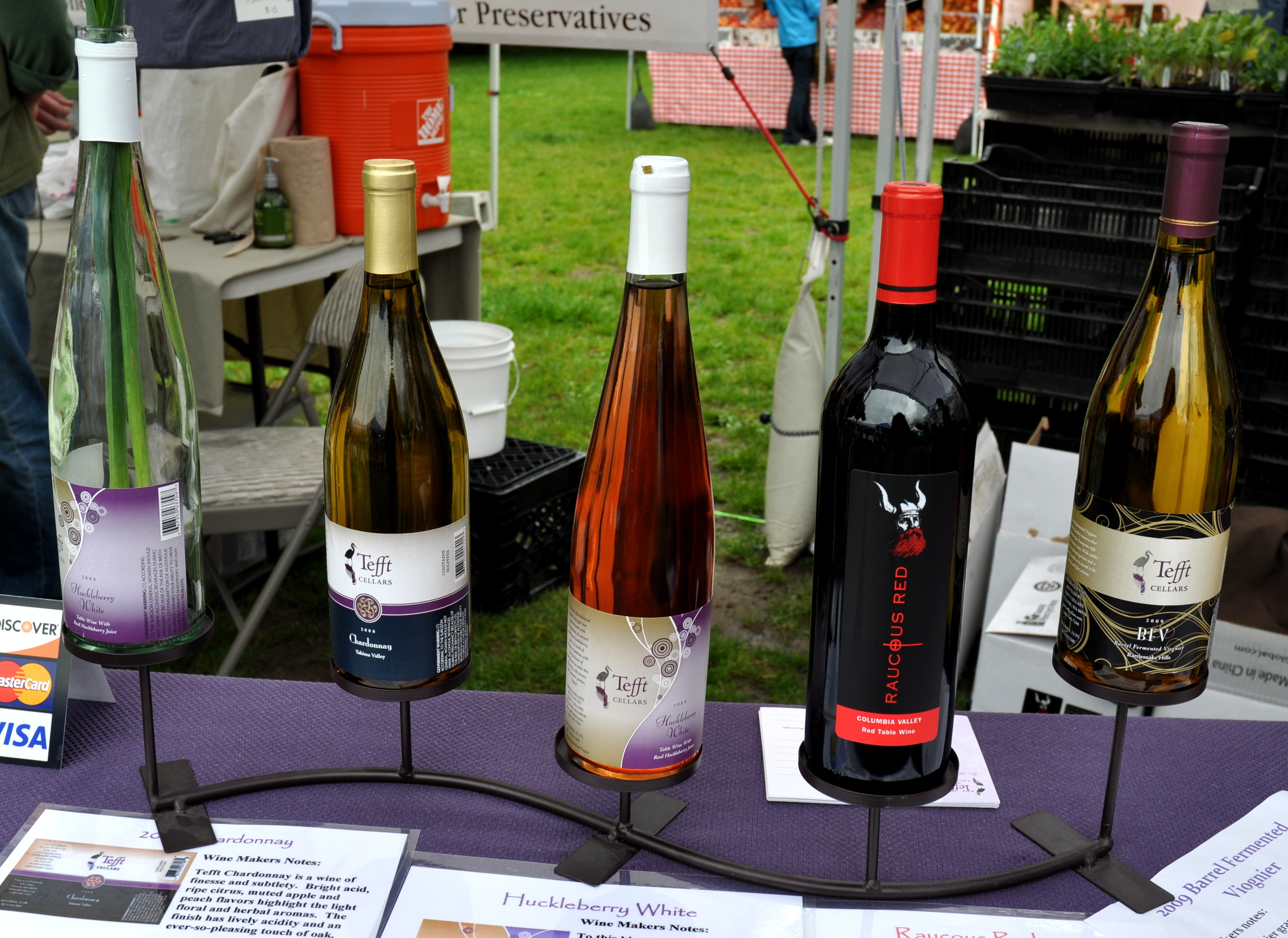 Washington wines from Tefft Cellars. Photo copyright 2011 by Zachary D. Lyons. & Wednesday June 8th: Chef Jason Brzozowy Sugar Snap Peas ...