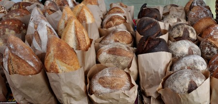Artisan breads from Tall Grass Bakery. Photo copyright 2013 by Zachary D. Lyons.