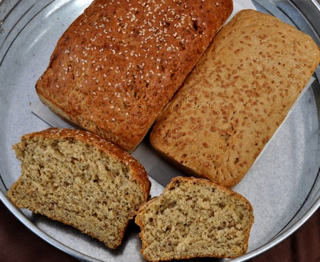 Gluten-free sandwich breads from d:floured gluten-free bakery. Photo copyright 2013 by Zachary D. Lyons.