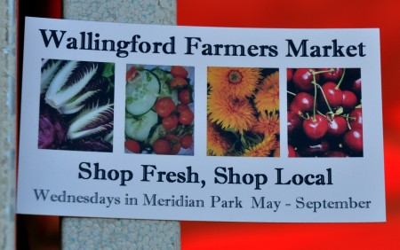 New refrigerator magnets for your Wallingford Farmers Market. Photo copyright 2013 by Zachary D. Lyons.