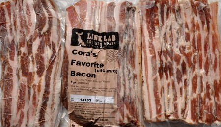 Spiced bacon from Sky Valley Family Farm. Photo copyright 2014 by Zachary D. Lyons.